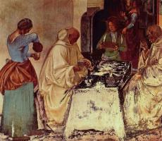 Лука Синьорелли. Фрески из бенедиктинского монастыря в Монте Оливето. Сцены из жития св. Бенедикта