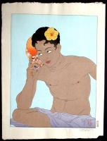 Павел Якоулет. Желтый цветок в волосах
