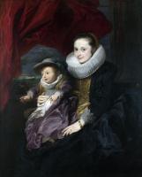 Антонис ван Дейк. Портрет женщины и ребенка