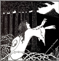 Aubrey Beardsley. The Return of Tannhäuser