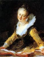 Жан Оноре Фрагонар. Портрет мадам Брийон де Жуи, французского музыканта и композитора