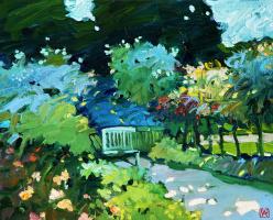 Alexander Valerievich Sushchin. Garden. Giverny.