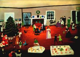 Grandmother (Anna Mary) Moses. Christmas