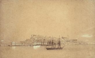 Ivan Aivazovsky. View Of Lisbon