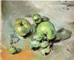 Поль Сезанн. Зеленые яблоки