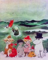 Туве Янссон. Обложка книги Т. Янссон про Муми-троллей