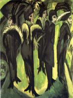Эрнст Людвиг Кирхнер. Пять женщин на улице
