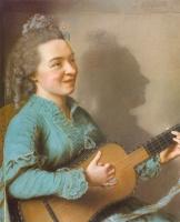 Жан-Этьен Лиотар. Музыкальная женщина