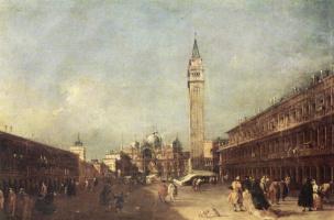 Francesco Guardi. Piazza San Marco