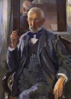 Константин Андреевич Сомов. Портрет А.И. Сомова, отца художника