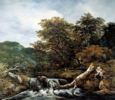 Якоб Исаакс ван Рейсдал. Водопад