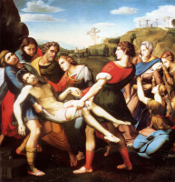Джованни Батиста Сальви. Положение во гроб
