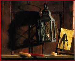Иаков Коллинз. Белая свеча