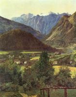 Фердинанд Георг Вальдмюллер. Вид на Дахштайн с Зофиенплатц