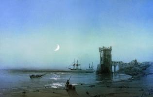 Ivan Aivazovsky. Sea landscape