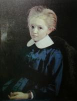 Николай Александрович Ярошенко. «Портрет девочки» 1880
