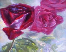 Impression of roses