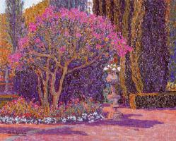 Мануэль де Грация. Дерево в цвету