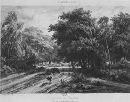 Шарль-Франсуа Добиньи. Орлиное гнездо в лесу Фонтенбло