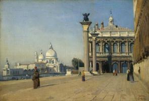 Камиль Коро. Утро в Венеции