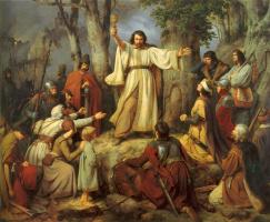Карлд Фридрих Лессинг. Проповедь гусита