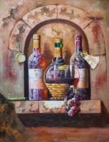 Савелий Камский. Винный натюрморт N3 с Кьянти