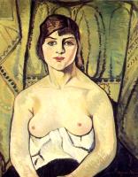 Сюзанна Валадон. Портрет женщины