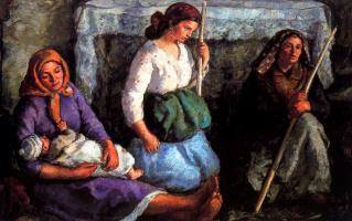Хуан Луис Лопес Гарсиа. Женщины и ребенок