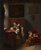 Нетсчер Каспар. Леди учит ребенка читать