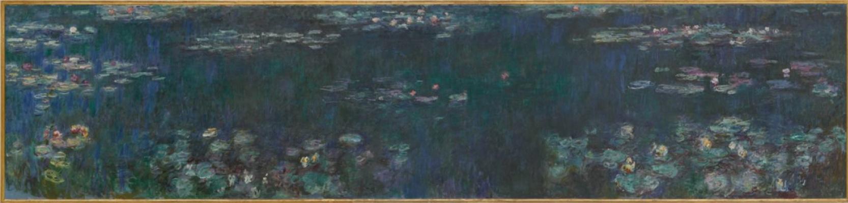 Клод Моне. Водяные лилии: зеленое отражение