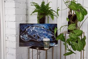 "Natalia Nikolaevna Leontyeva. Painting ""Passion"""