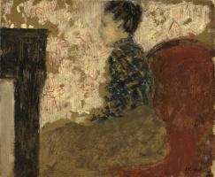 Жан Эдуар Вюйар. Женщина, сидящая у камина