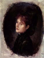 Николае Григореску. Портрет госпожи Алексяну