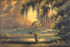Гарольд Ньютон. Тропический пейзаж 44
