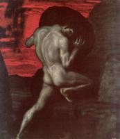 Franz von Pieces. Sisyphus