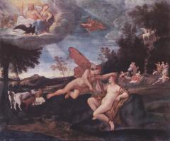 Франческо Альбани. Меркурий и Аполлон