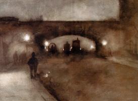 Виллем Витсен. Ночь на мосту