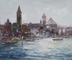 Andrew Shararin. Dreams of Venice N33