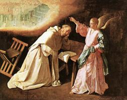 Франсиско де Сурбаран. Видение святого Петра