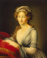 Элизабет Виже-Лебрен. Портрет великой княгини Елизаветы Алексеевны