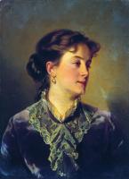 Иван Кузьмич Макаров. Женский портрет. 1860-е