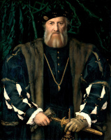 Hans Holbein The Younger. Portrait of Charles de Sausalito, Syrah de Moretta, the French Ambassador in London