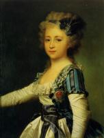 Dmitry Grigorievich Levitsky. Portrait of Grand Duchess Elena Pavlovna