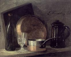 Анри Фантен-Латур. Натюрморт с чайником