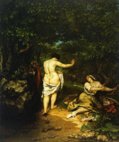 Gustave Courbet. Bathers
