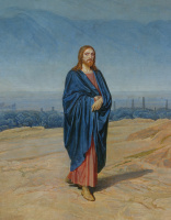 Александр Андреевич Иванов. Явление Христа народу. 1837-1857  деталь