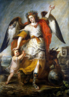Антонио де Переда. Ангел-хранитель