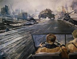 Юрий Иванович Пименов. Фронтовая дорога