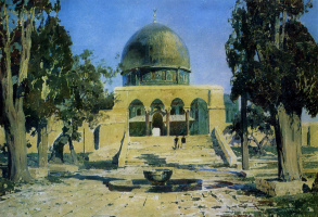Vasily Dmitrievich Polenov. Mosque