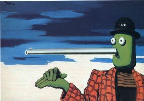 Rene Magritte. Dot